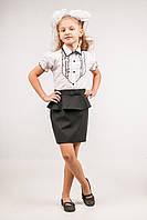 Юбка школьная для девочки, размеры 28, 30, 32, 34, 36. (Ю-76)