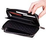 Женский кошелек Eminsa 2152-18-1 кожаный черный, фото 5