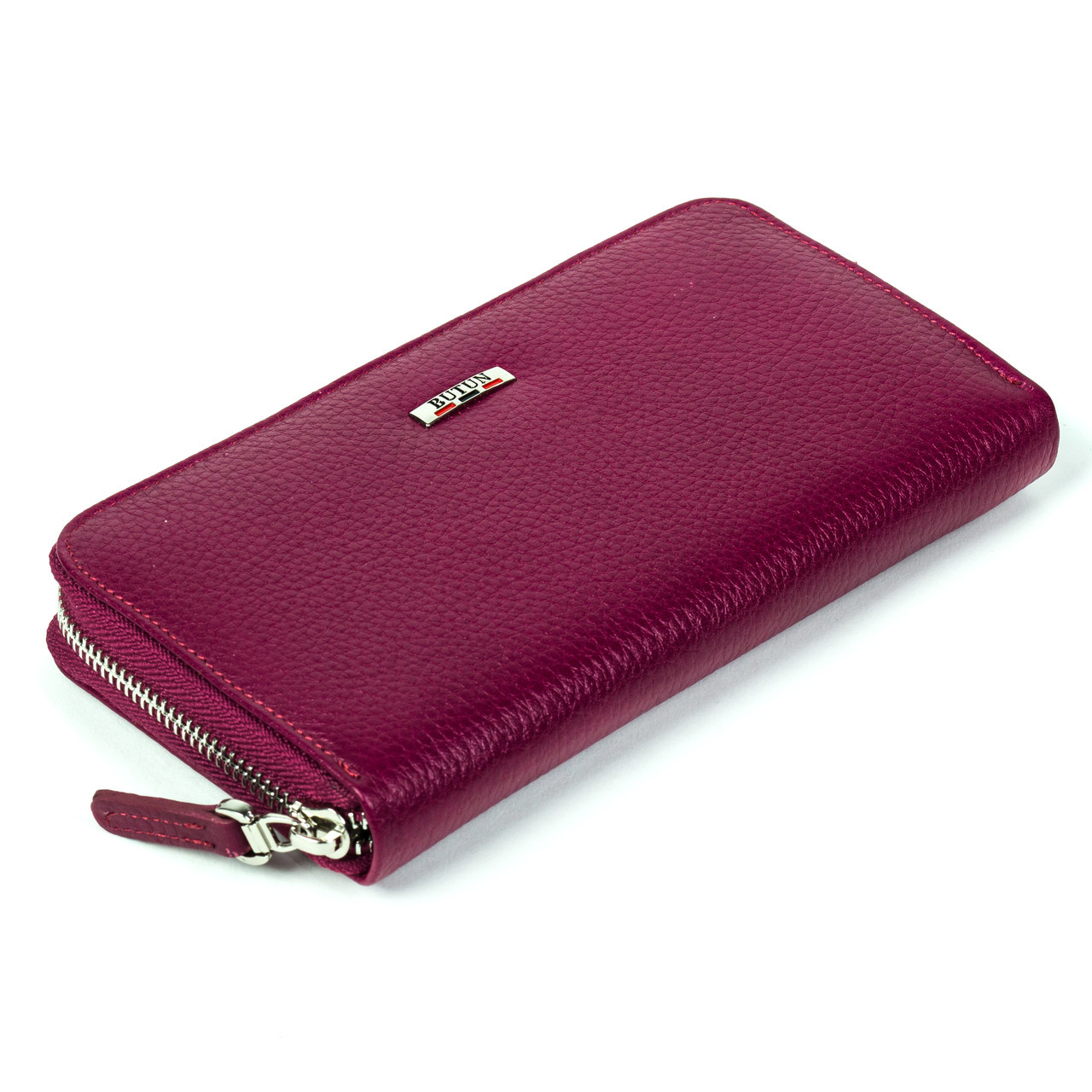Женский кошелек Butun 639-004-005 кожаный марсала
