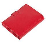 Женский кошелек Butun 186-004-006 кожаный красный, фото 2