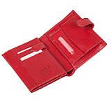 Женский кошелек Butun 186-004-006 кожаный красный, фото 3
