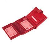 Женский кошелек Butun 186-004-006 кожаный красный, фото 4