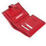 Женский кошелек Butun 186-004-006 кожаный красный, фото 6