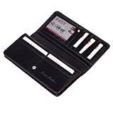 Женский кошелек Butun 641-004-001 кожаный черный, фото 4