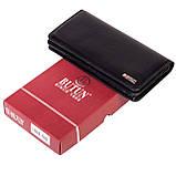 Женский кошелек Butun 641-004-001 кожаный черный, фото 6