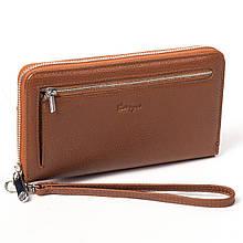 Клатч-гаманець Karya 0706-38 чоловічий шкіряний коричневий