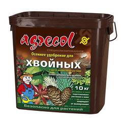 Agrecol/Агрекол удобрение осеннее для хвойных культур, 10 кг