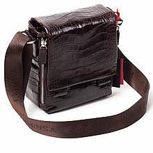 Чоловіча сумка шкіряна коричнева Eminsa 6069-4-3
