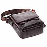 Мужская сумка кожаная коричневая Eminsa 6069-4-3, фото 4