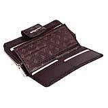 Женский кошелек кожаный коричневый Eminsa 2149-7-3, фото 6