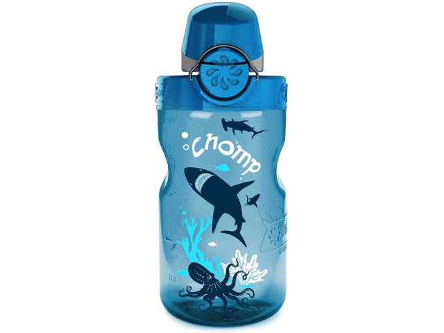 Бутылка для воды Nalgene OTF Kids 350 мл. Blue Slate-Chomp