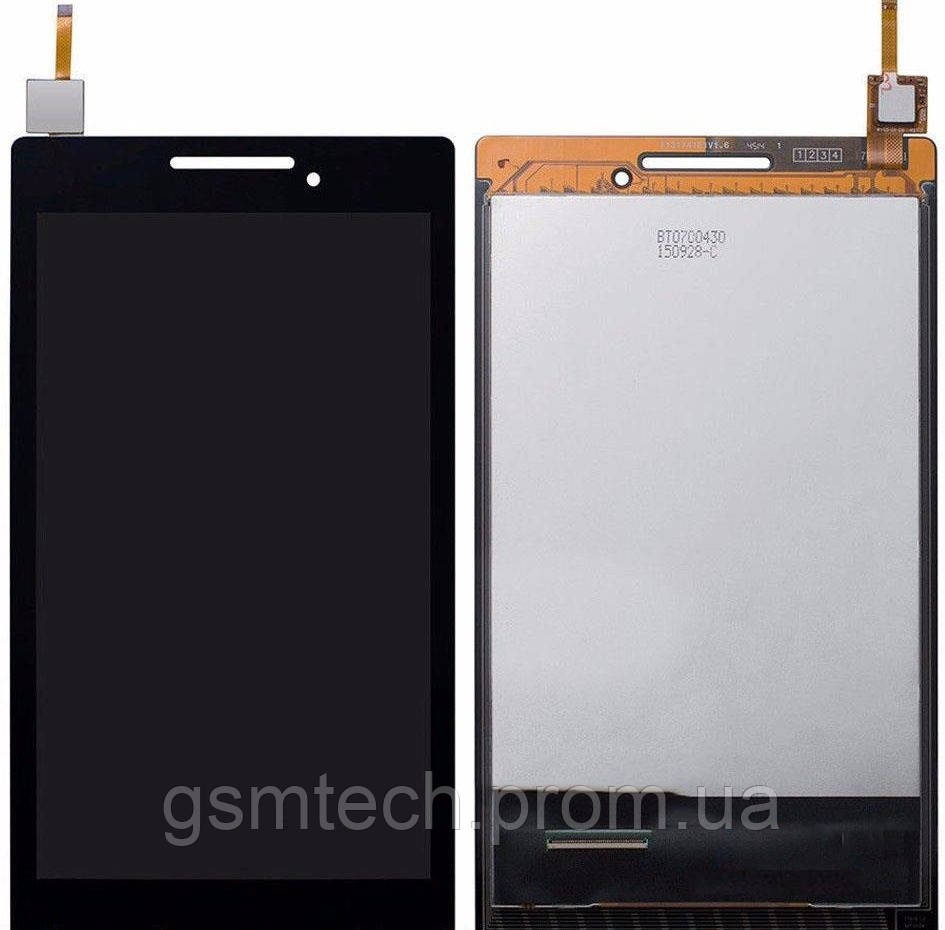 Дисплей с сенсором (модуль) для Lenovo IdeaTab 2 A7-10F/A7-20F/A7-30F черного цвета