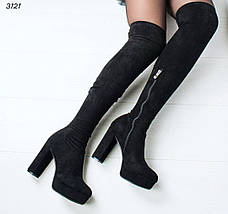 Женские сапоги ботфорты, фото 2