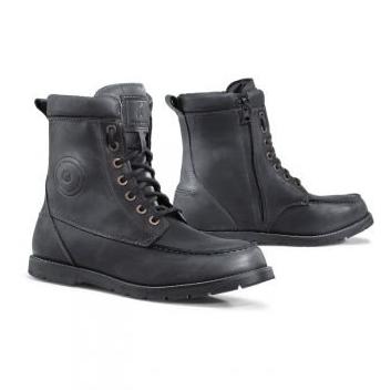Мотоботы кожаные Forma Naxos (Black)