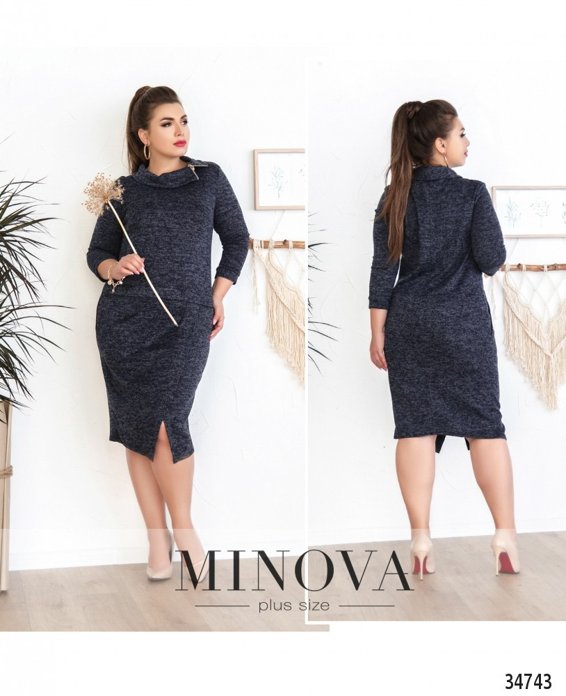 Женское модное платье  СК4053/1 (бат)