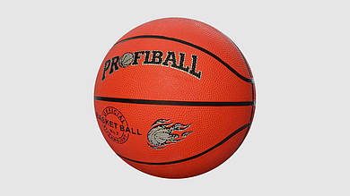 Мяч баскетбольный ProfiBall. VA0001. Размер 7. Резина. 8 панелей. 510 грам