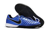 Футзалки Nike Tiempo Lunar Legend VII Pro IC blue, фото 1