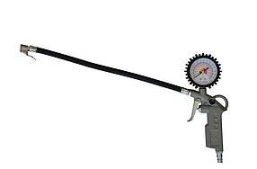 Пистолет для накачивания колес Technics с манометром 31 х 21 х 5.5 см (52-725)