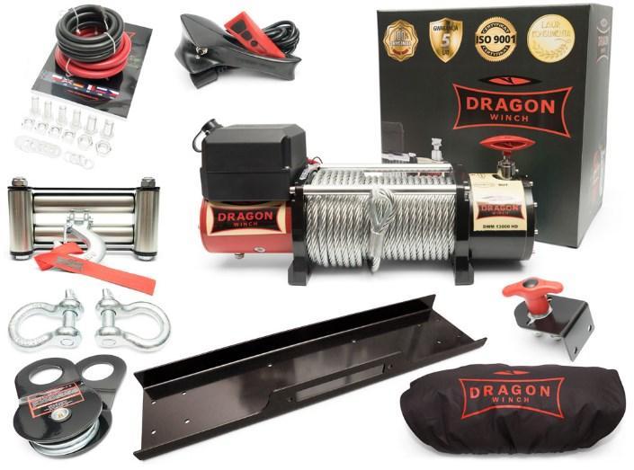 Лебедка Dragon Winch DWM 13000 HD 24V