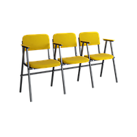 Кресло для актового зала трёхместное