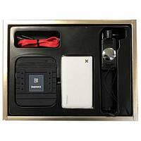 Remax Gift Box : Monopod & Power Bank 5500 mAh & USB Cable & Stand