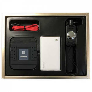Remax Gift Box : Monopod & Power Bank 5500 mAh & USB Cable & Stand