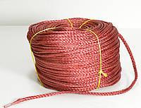 Мотузка нетонущая червона, 12мм, 200м