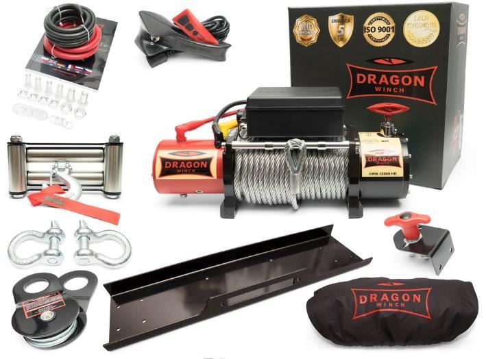 Лебедка Dragon Winch DWM 12000 HD 12V
