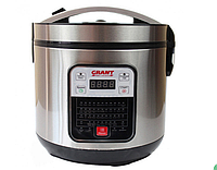 Мультиварка Grant GT 525 900W на 46 программ InTrend Серо-Черная