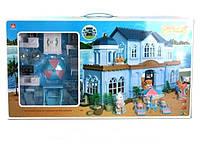 Игрушечный домик для кукол с флоксовыми животными Happy Family(аналог Sylvanian Familly)012-11