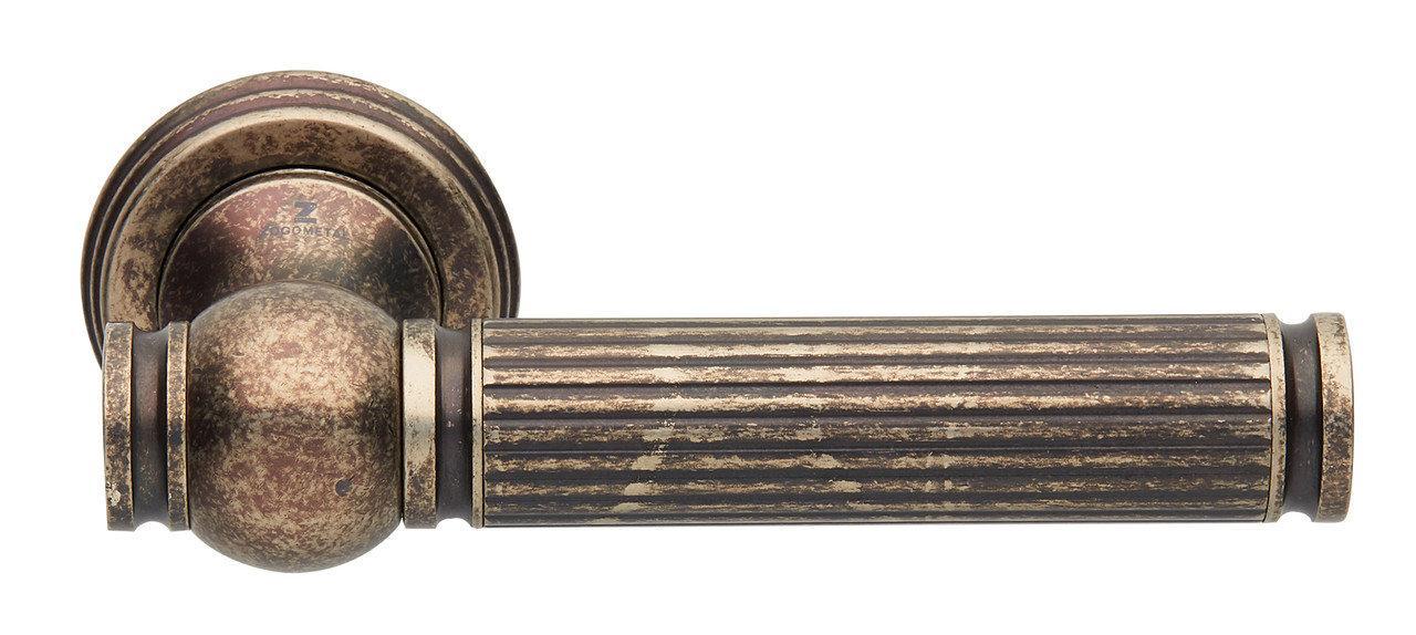 Ручки для дверей Zogometal 2501 нікель античний