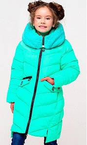 Зимнее теплое  пальто для девочки Афина