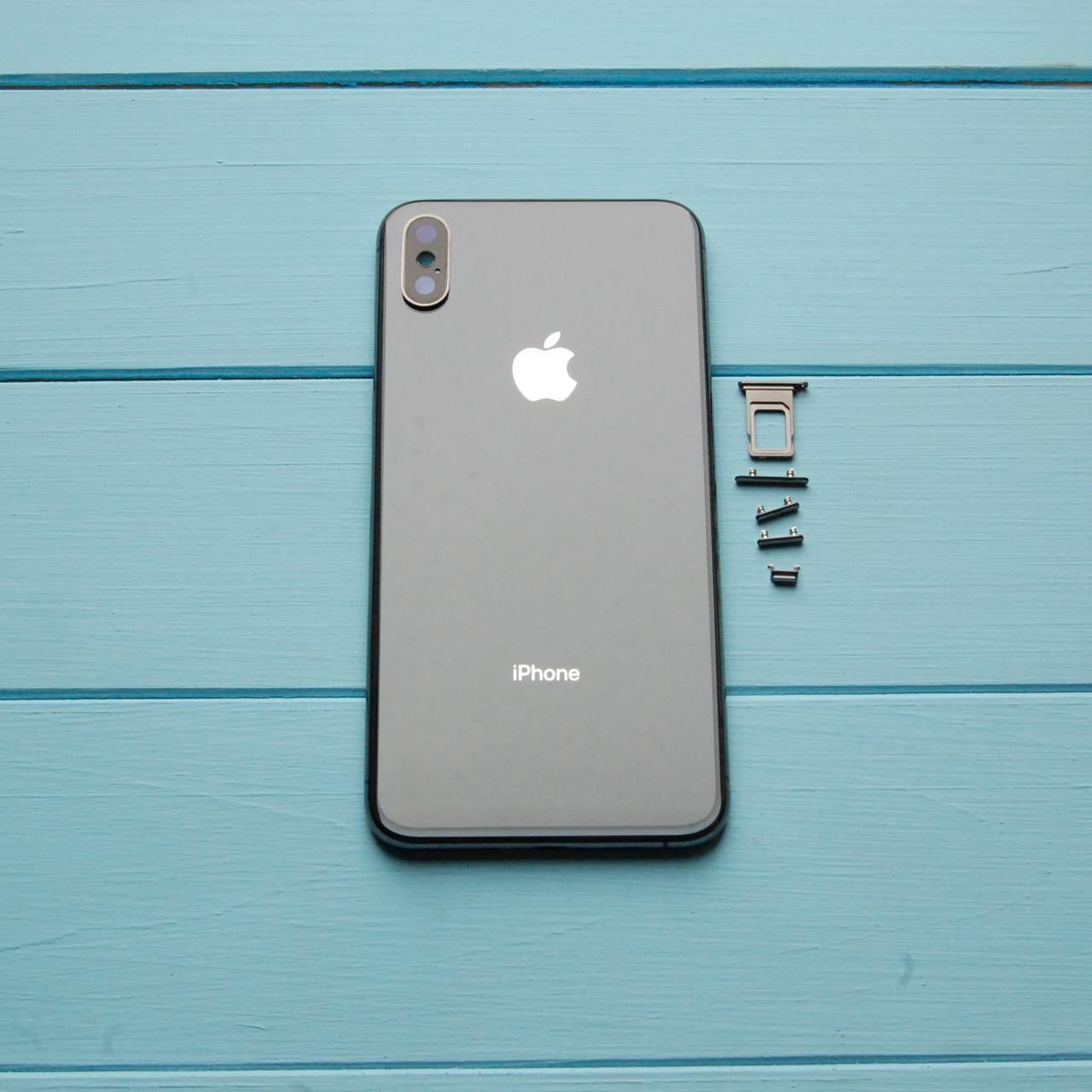 Корпус Apple iPhone XS Max Space Gray