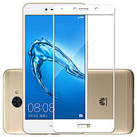 Защитное стекло Full Cover Huawei Y5 2018, White
