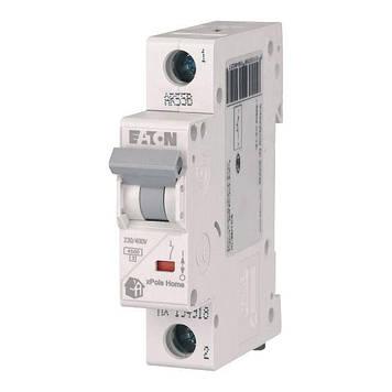Автоматический выключатель 16А, тип C, 1 полюс, HL-C16/1 Eaton