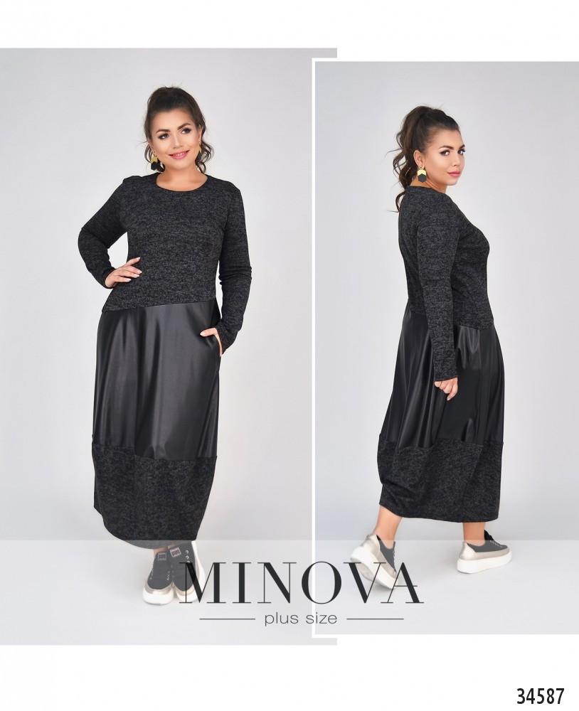 Женское модное платье  СК4091/1 (бат)