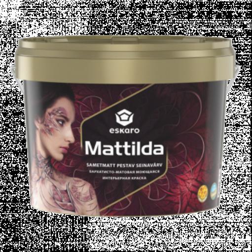 Бархатисто-матовая краска для стен и потолка Eskaro Mattilda TR 2.7л (транспарентная)