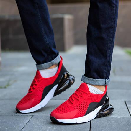 Кросівки чоловічі червоні кроссовки спортивні, фото 2