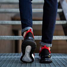 Кросівки чоловічі червоні кроссовки спортивні, фото 3