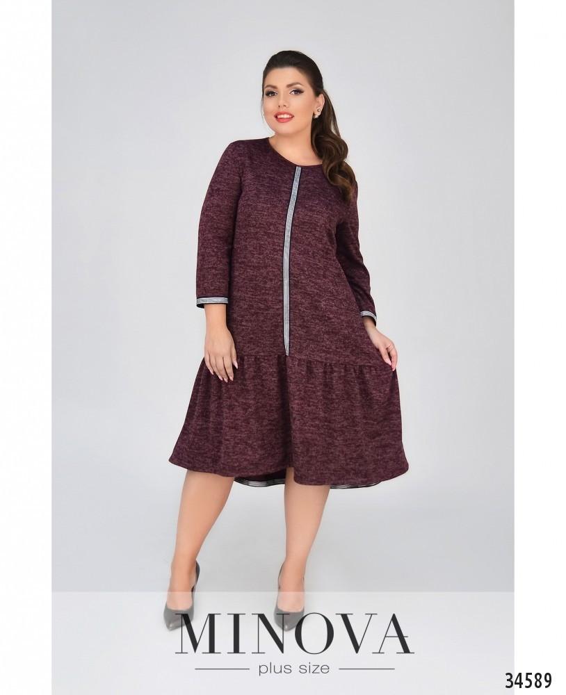 Женское модное платье  СК1875/1 (бат)