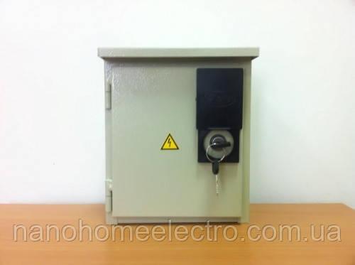 Уличный шкаф металлический на 12 автоматов IP54