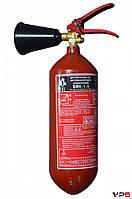 Огнетушитель углекислотный ВВК-1,4ОУ-2