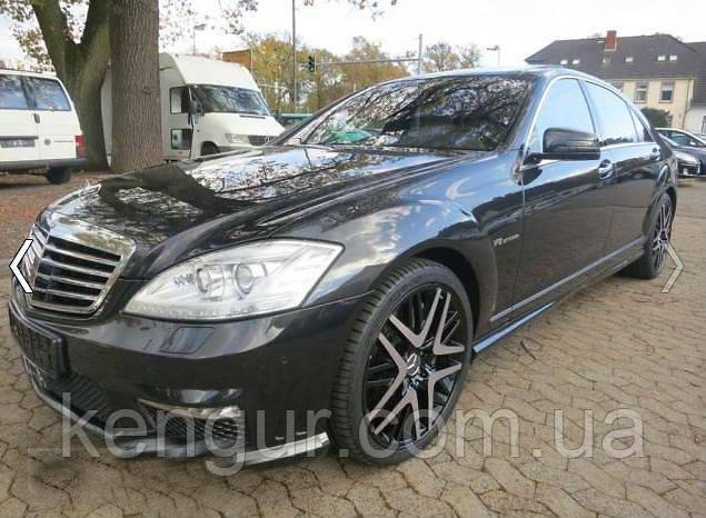 AMG обвес / рестайлинг Mercedes Benz S-class W221