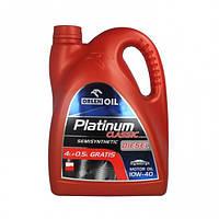 Моторное масло Orlen Oil Platinum Classic Diesel Semisynthetic 10W-40 (4.5 л)