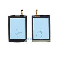 Сенсорный экран Nokia X3-02 черного цвета