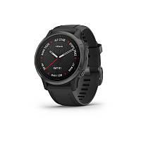 Смарт часы Garmin Fenix 6S - Carbon Gray DLC with Black Band