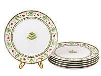 """Набор из 6 тарелок 26 см """"Новогодняя коллекция"""" 943-161"""