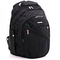"""Школьный  рюкзак """"Dolly"""" с уплотненной спинкой черный, фото 1"""