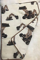 """Детское одеяло-плед из овечьей шерсти """"Eluna"""""""