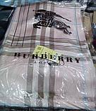 Палантин шарф женский  Burberry ,барбери.  Розовый, фото 2